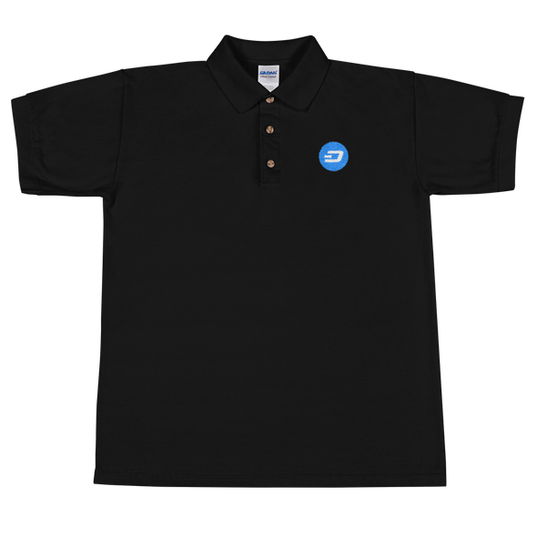 Dash Embroidered Polo Shirt Black S - zeroconfs