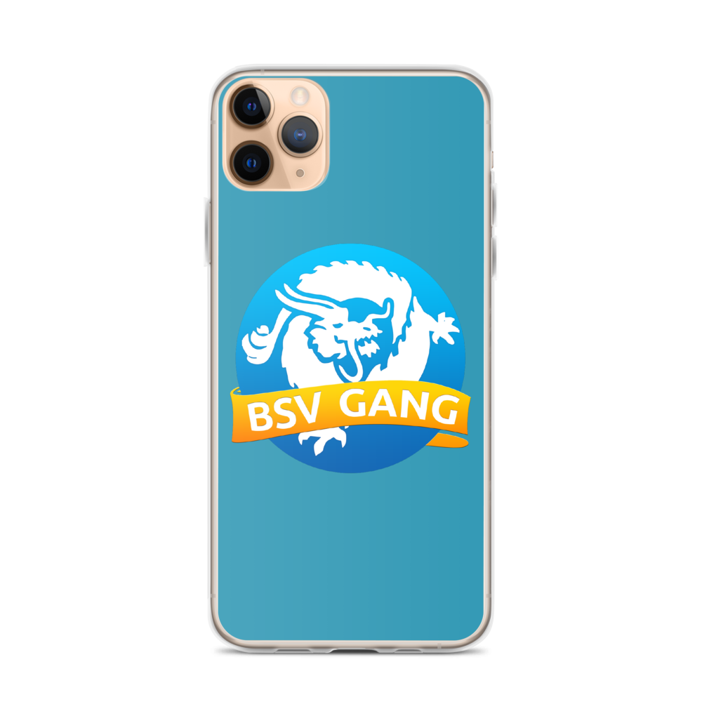Bitcoin SV Gang iPhone Case Blue iPhone 11 Pro Max  - zeroconfs
