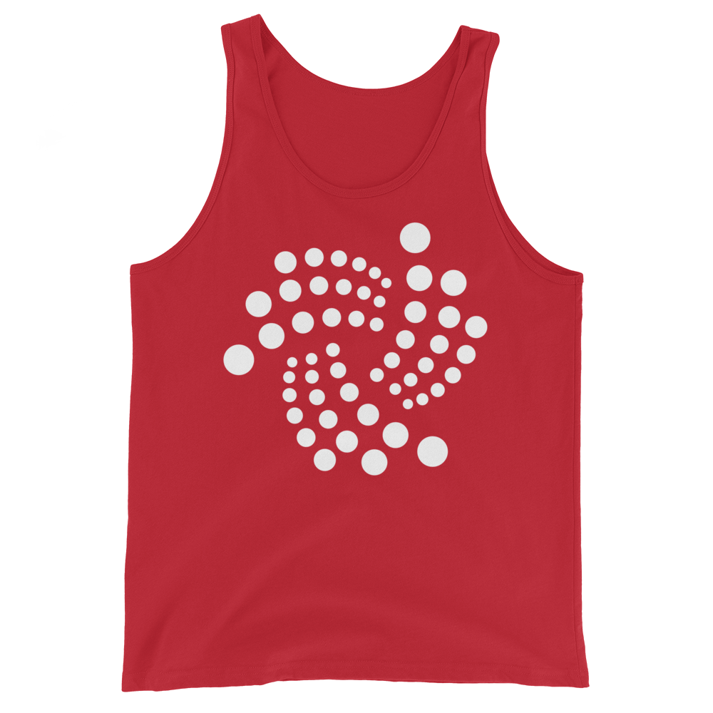 IOTA Tank Top Red XS - zeroconfs