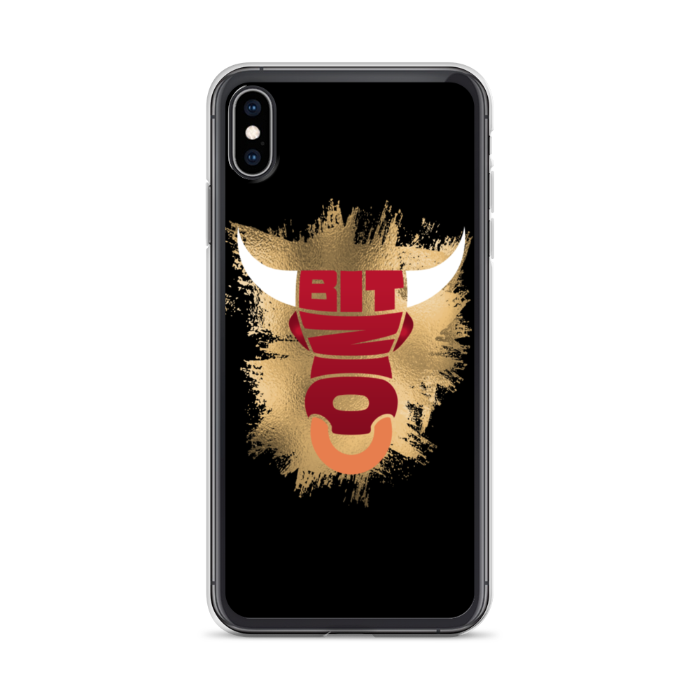 Bitcoin Bull iPhone Case iPhone XS Max  - zeroconfs