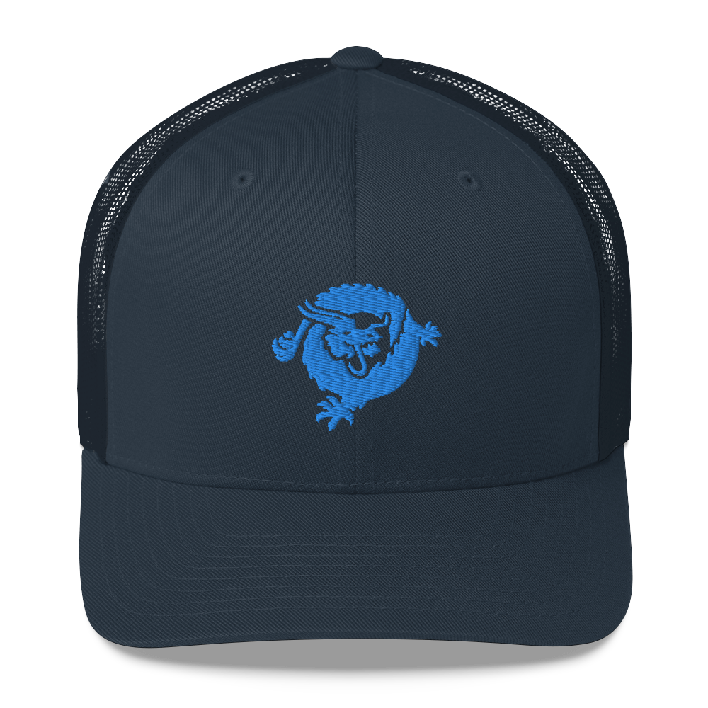 Bitcoin SV Dragon Trucker Cap Blue Navy  - zeroconfs