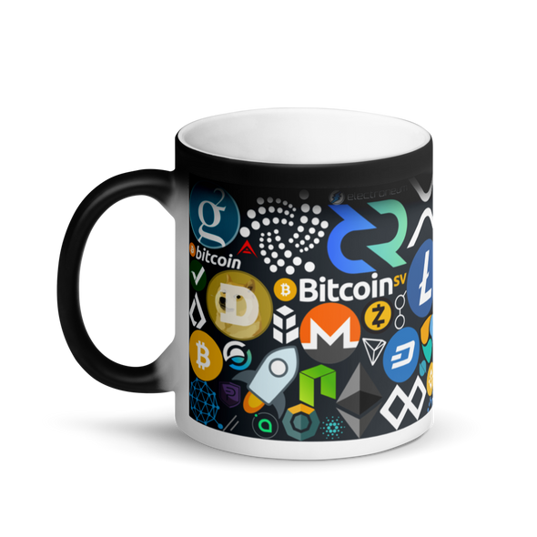 Crypto Calling Magic Mug   - zeroconfs