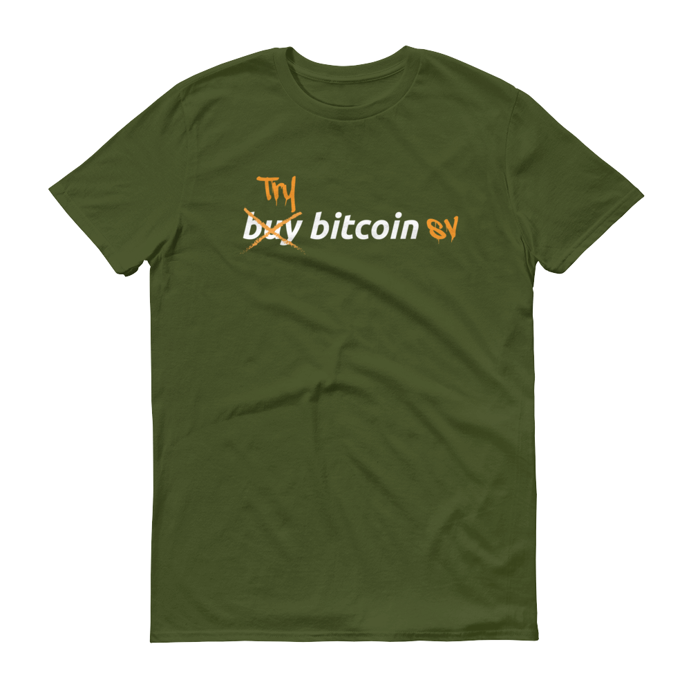 Try Bitcoin SV Short-Sleeve T-Shirt City Green S - zeroconfs