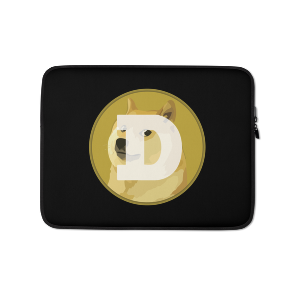 Dogecoin Laptop Sleeve 13 in  - zeroconfs