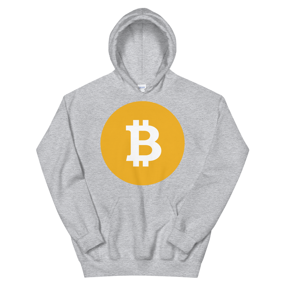 Bitcoin SV Logo Women's Hooded Sweatshirt Sport Grey S - zeroconfs