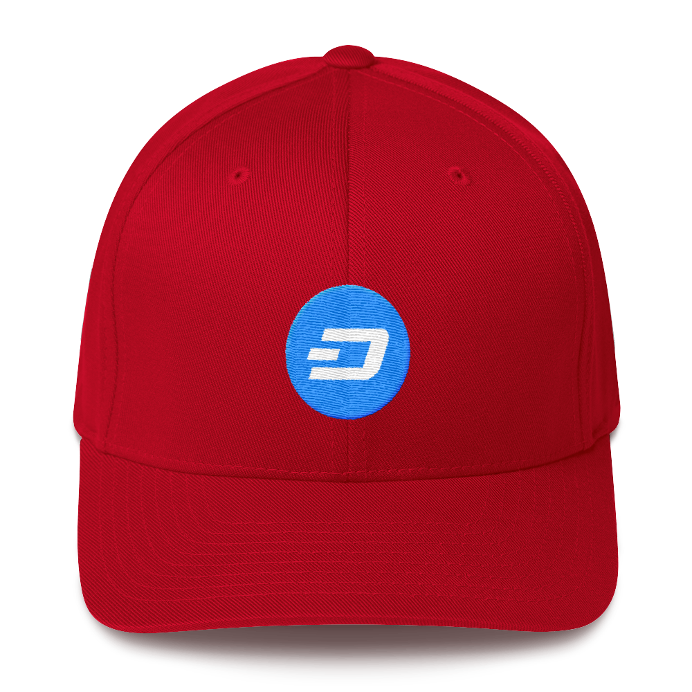 Dash Flexfit Cap Red S/M - zeroconfs