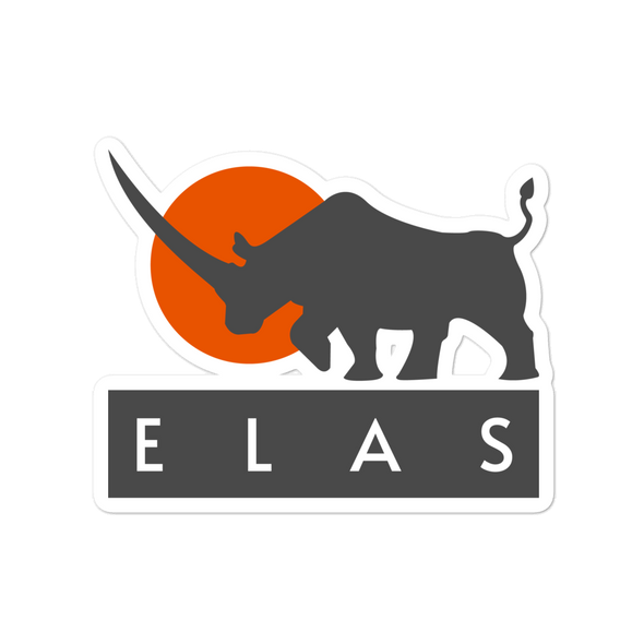ELAS Digital Bubble-Free Vinyl Stickers 4x4  - zeroconfs