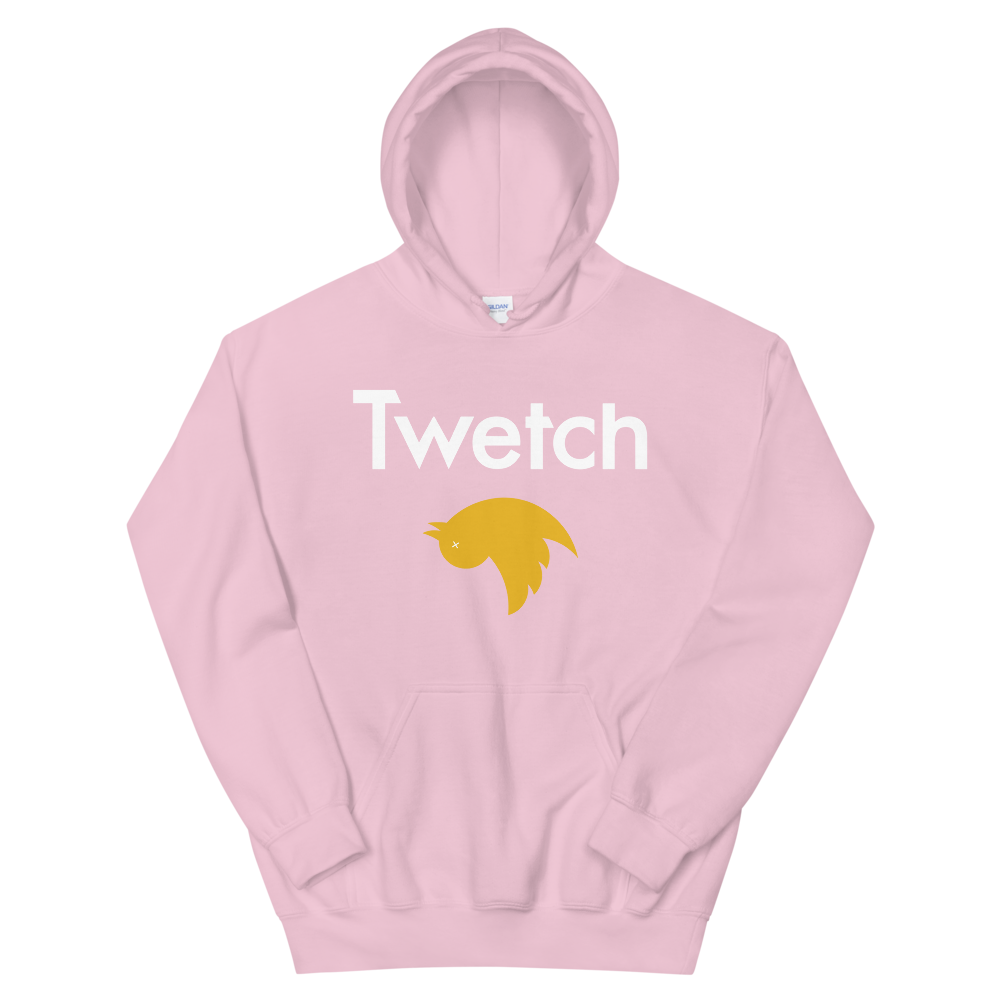 Twetch Hooded Sweatshirt Light Pink S - zeroconfs