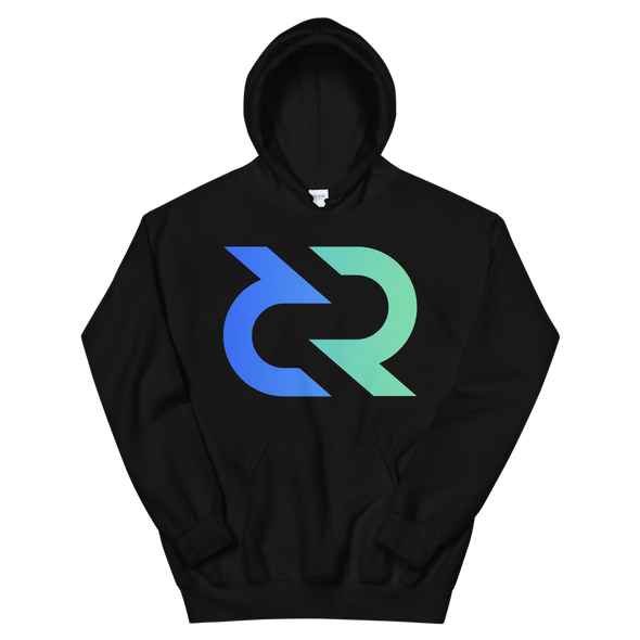 Decred Hooded Sweatshirt Black S - zeroconfs
