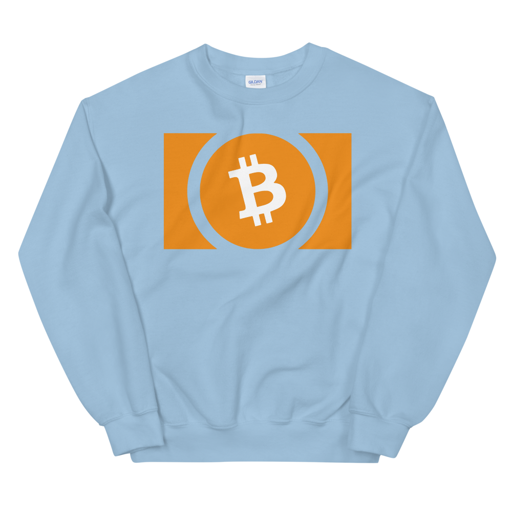 Bitcoin Cash Women's Sweatshirt Light Blue S - zeroconfs