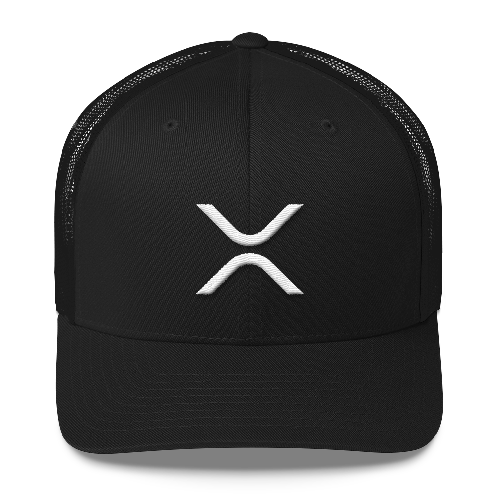 Ripple Trucker Cap Black  - zeroconfs