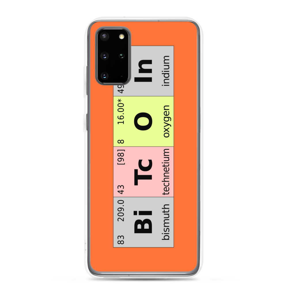 Bitcoin Periodic Table Samsung Case Samsung Galaxy S20 Plus  - zeroconfs