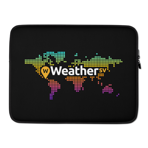 Weather SV Laptop Sleeve 15 in  - zeroconfs