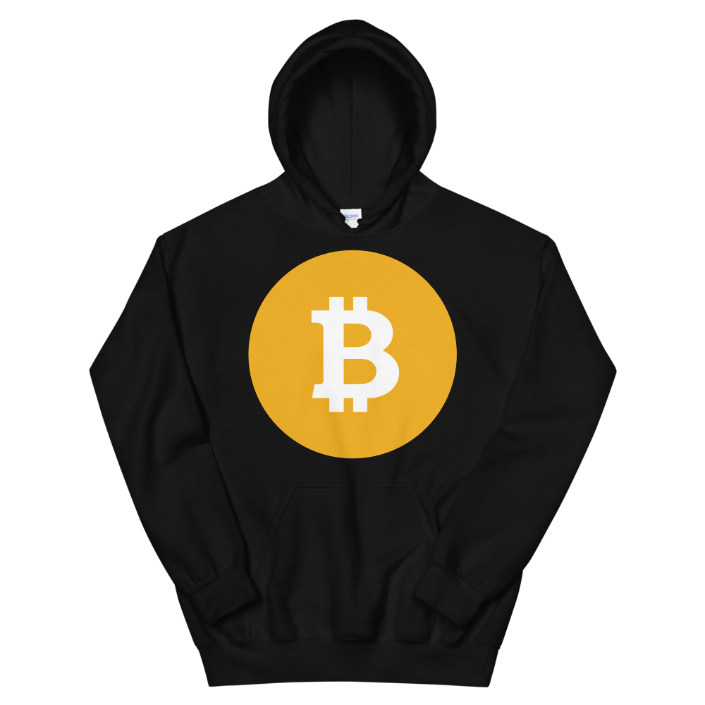 Bitcoin SV Logo Women's Hooded Sweatshirt Black S - zeroconfs