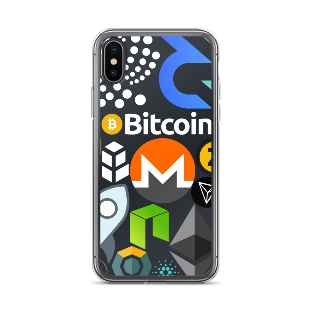 Crypto Calling iPhone Case iPhone X/XS  - zeroconfs