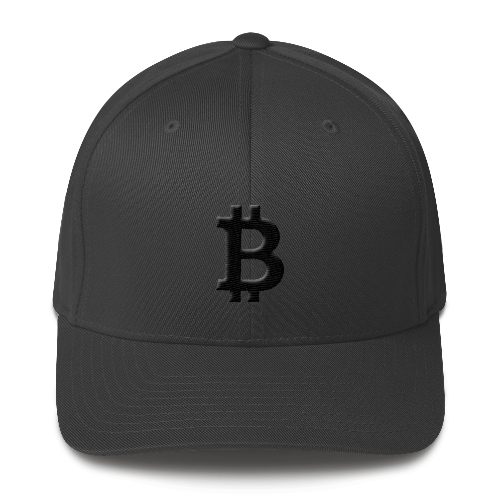 Bitcoin Blacknet SE Flexfit Cap Dark Grey S/M - zeroconfs