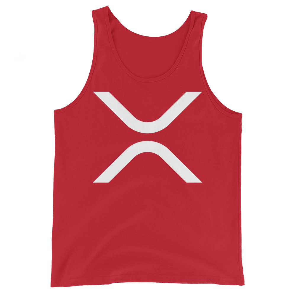 Ripple Tank Top Red XS - zeroconfs