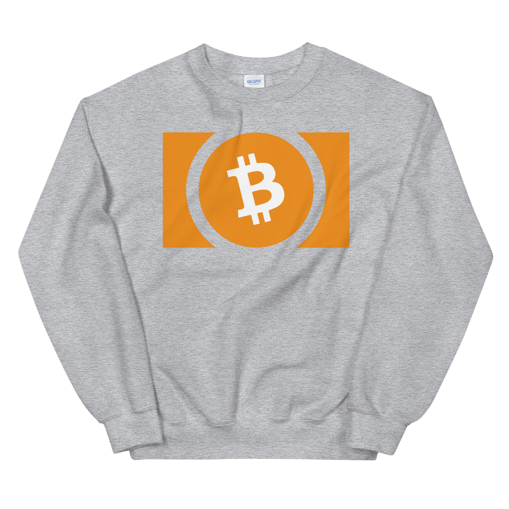 Bitcoin Cash Women's Sweatshirt Sport Grey S - zeroconfs