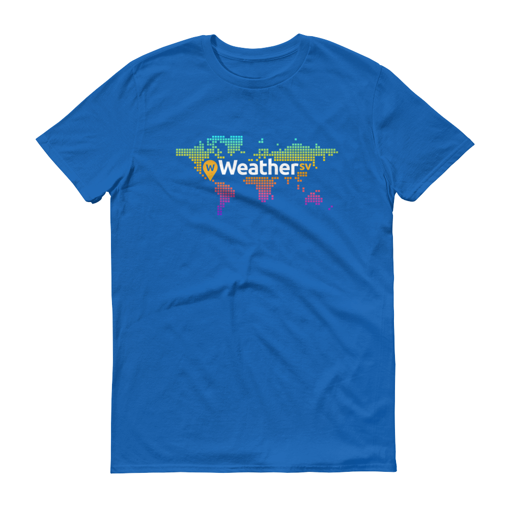 Weather SV Short-Sleeve T-Shirt Royal Blue S - zeroconfs
