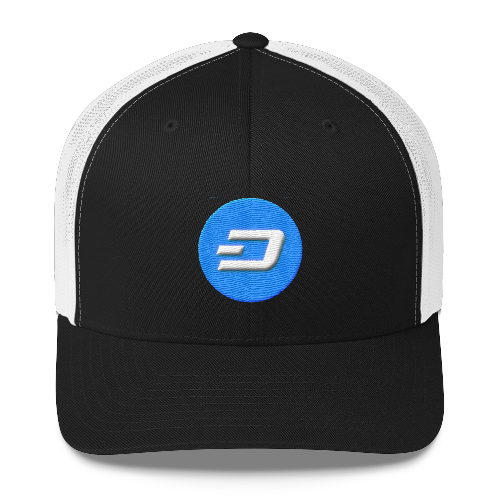 Dash Trucker Cap Black/ White  - zeroconfs