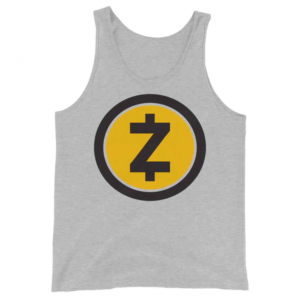 Zcash Tank Top Athletic Heather XS - zeroconfs