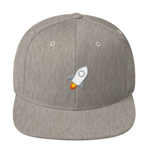 Stellar Snapback Hat Heather Grey  - zeroconfs