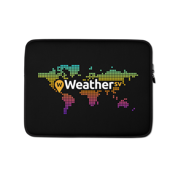 Weather SV Laptop Sleeve 13 in  - zeroconfs