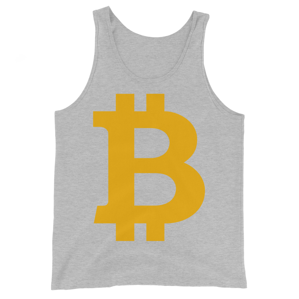 Bitcoin B Tank Top Athletic Heather XS - zeroconfs