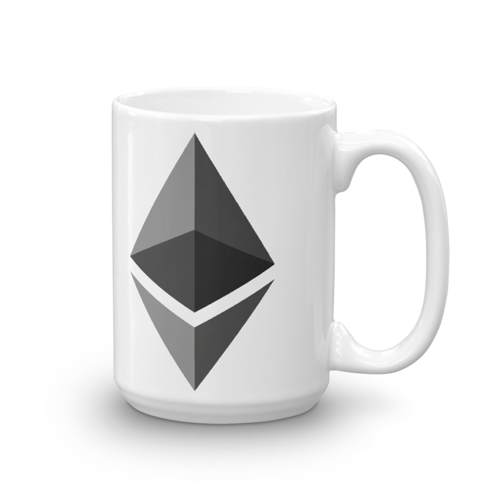 Ethereum Coffee Mug 15oz  - zeroconfs
