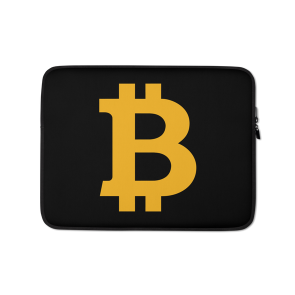 Bitcoin B Laptop Sleeve 13 in  - zeroconfs