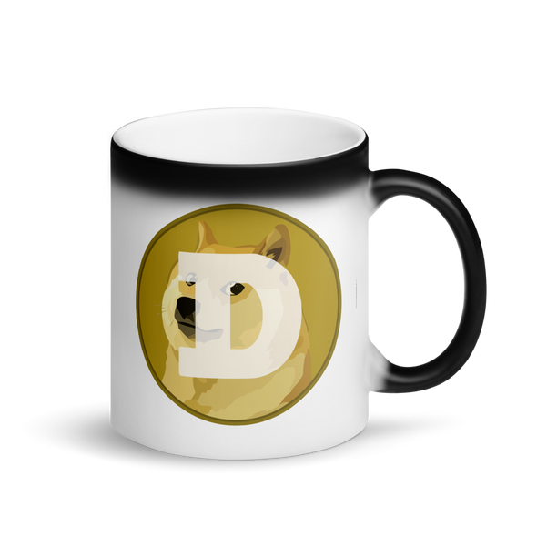 Dogecoin Magic Mug Default Title  - zeroconfs