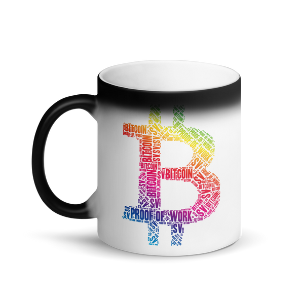 Bitcoin SV Proof Of Work Magic Mug   - zeroconfs