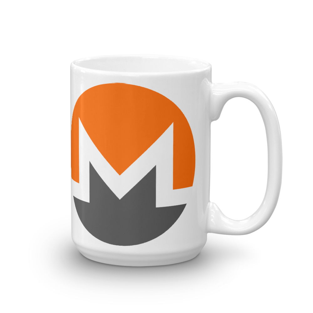 Monero Coffee Mug 15oz  - zeroconfs