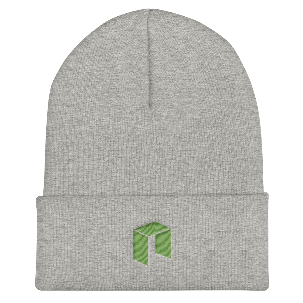 NEO Cuffed Beanie Heather Grey  - zeroconfs