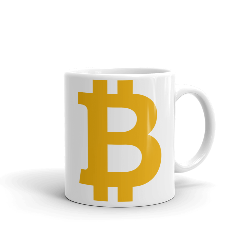 Bitcoin B Coffee Mug 11oz  - zeroconfs