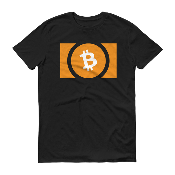 Bitcoin Cash Short-Sleeve T-Shirt Black S - zeroconfs