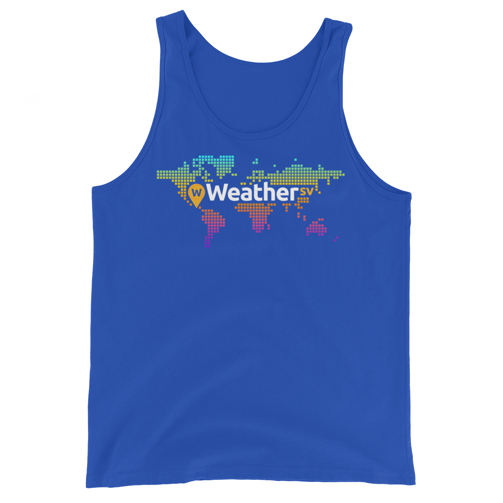 Weather SV Tank Top True Royal XS - zeroconfs