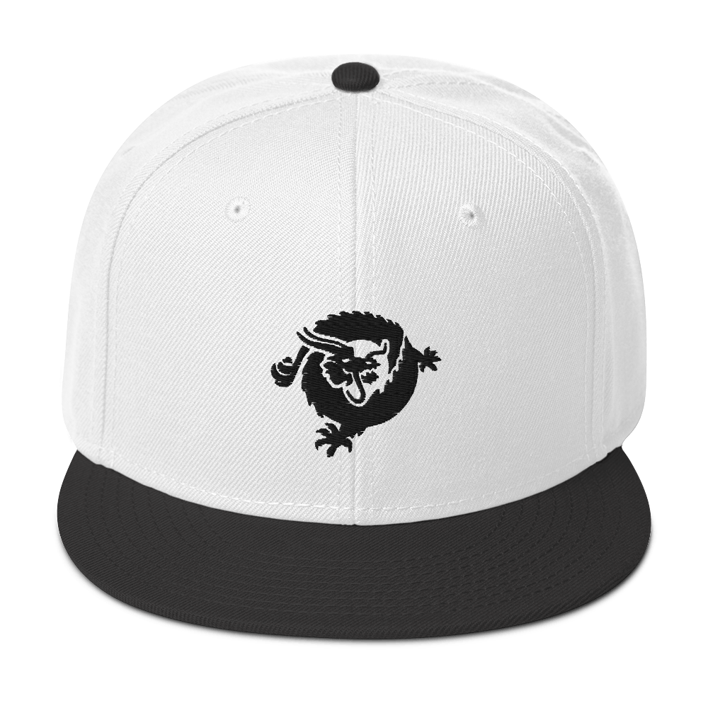 Bitcoin SV Dragon Snapback Hat Black Visor Default Title  - zeroconfs