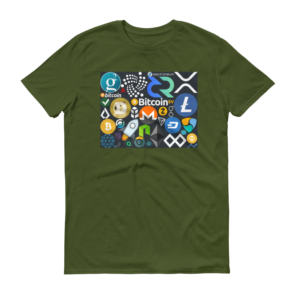 Crypto Calling Short-Sleeve T-Shirt City Green S - zeroconfs