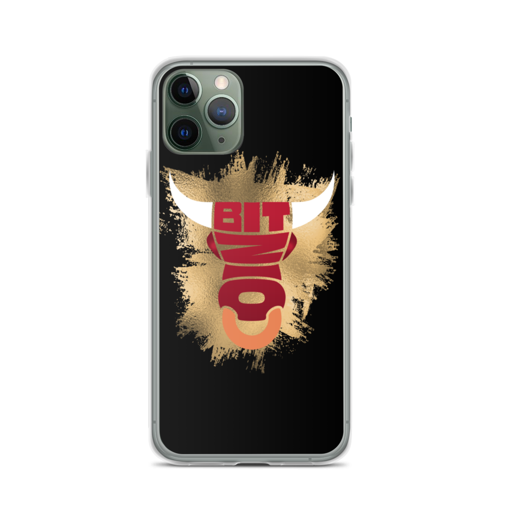 Bitcoin Bull iPhone Case iPhone 11 Pro  - zeroconfs