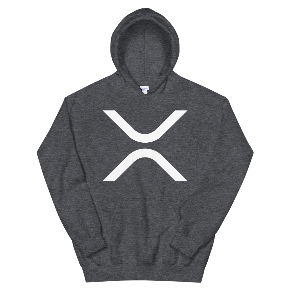 Ripple Hooded Sweatshirt Dark Heather S - zeroconfs