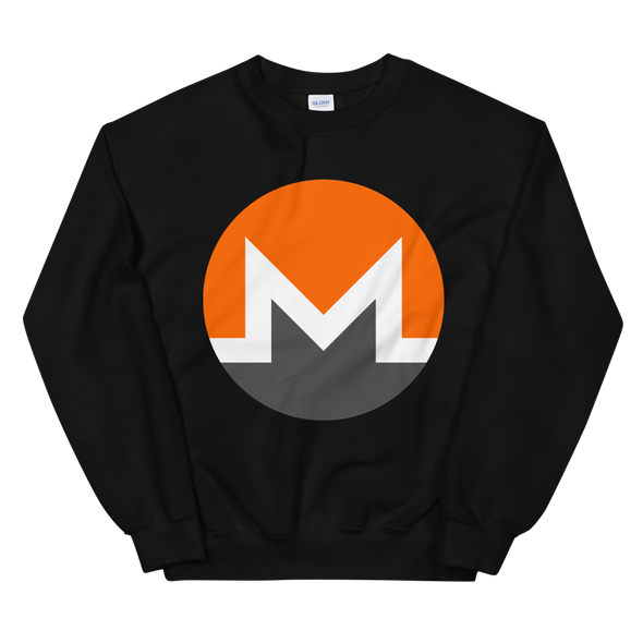 Monero Women's Sweatshirt Black S - zeroconfs