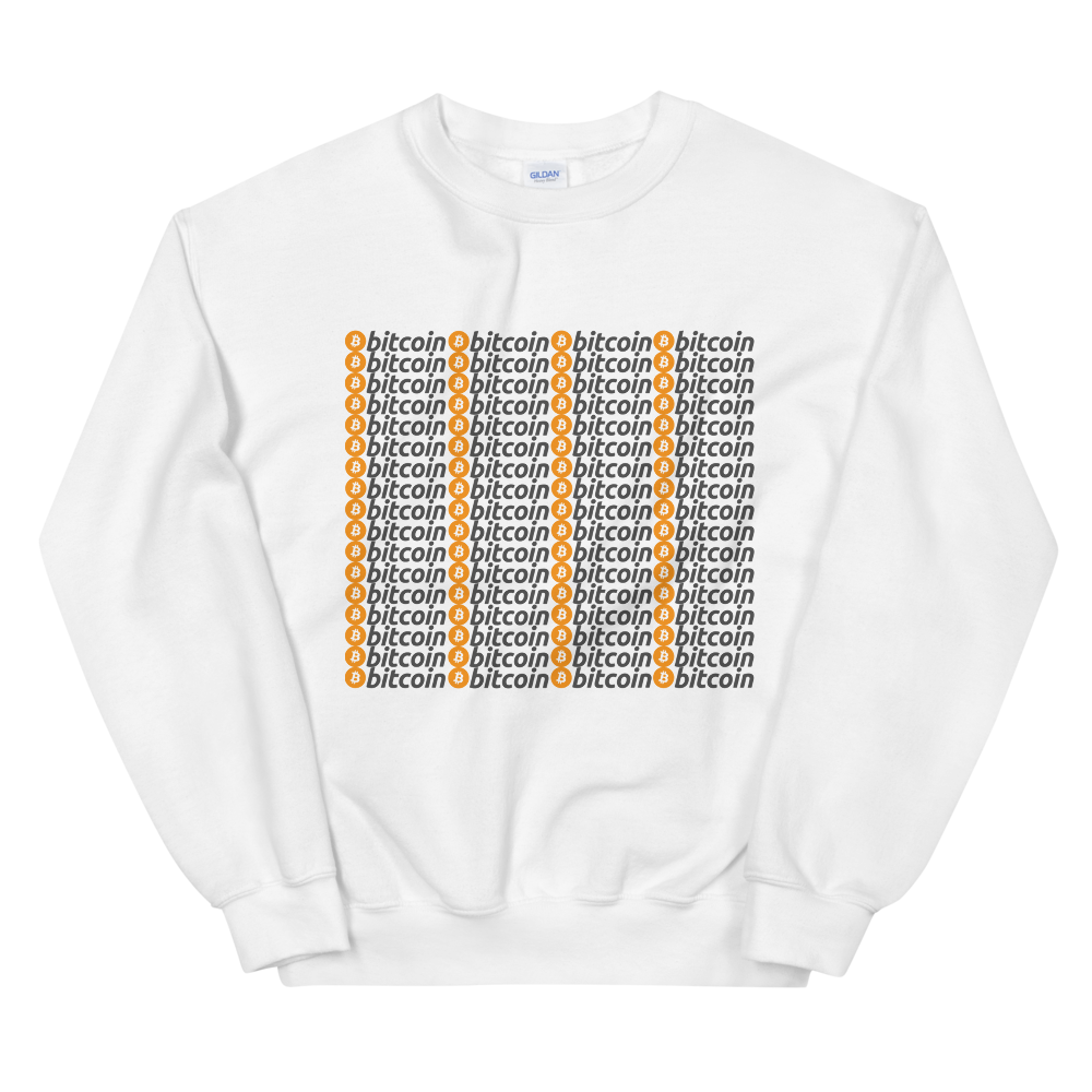 Bitcoins Women's Sweatshirt White S - zeroconfs