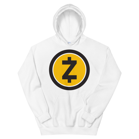 Zcash Women's Hooded Sweatshirt White S - zeroconfs