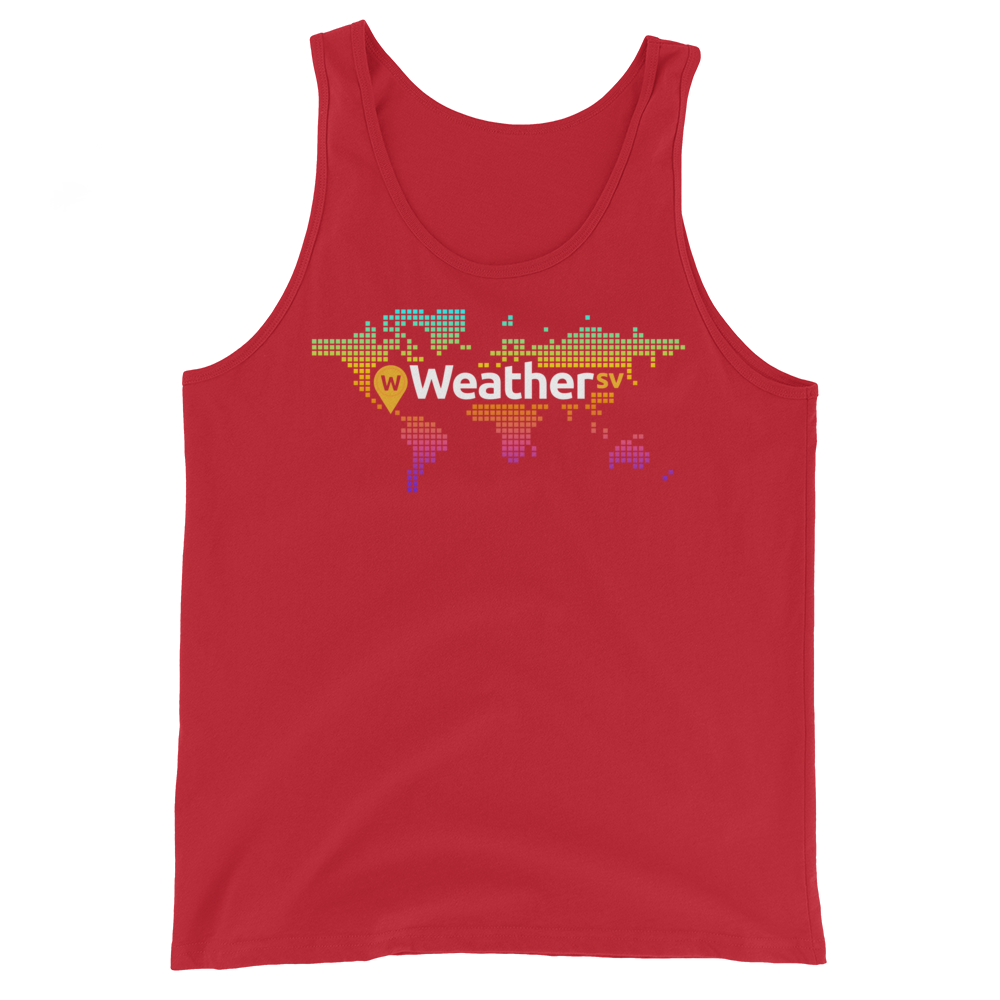 Weather SV Tank Top Red XS - zeroconfs