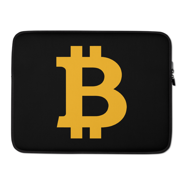 Bitcoin B Laptop Sleeve 15 in  - zeroconfs