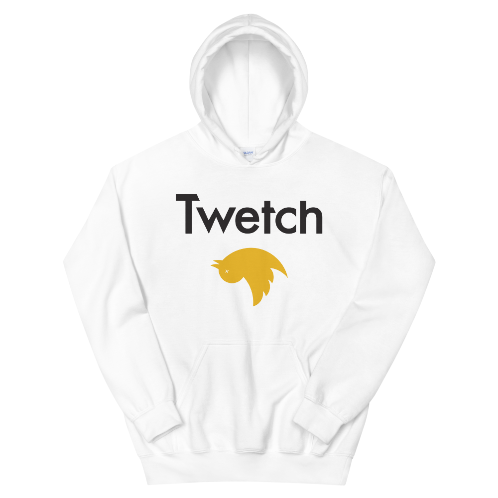 Twetch Hooded Sweatshirt White S - zeroconfs
