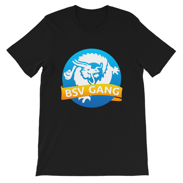 Bitcoin SV Gang Short-Sleeve T-Shirt Black S - zeroconfs