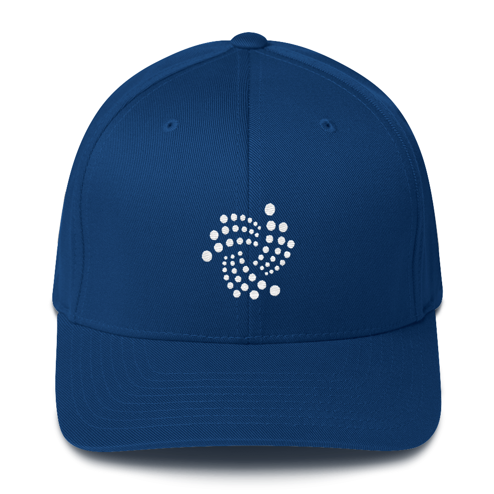 IOTA Flexfit Cap Royal Blue S/M - zeroconfs