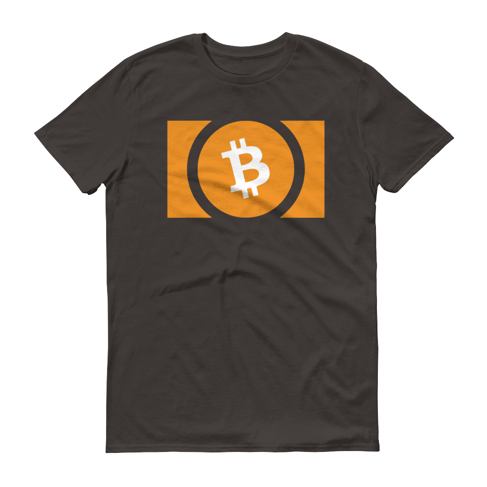 Bitcoin Cash Short-Sleeve T-Shirt Smoke S - zeroconfs